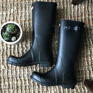 *Brand New* MEN'S Hunter rain boots